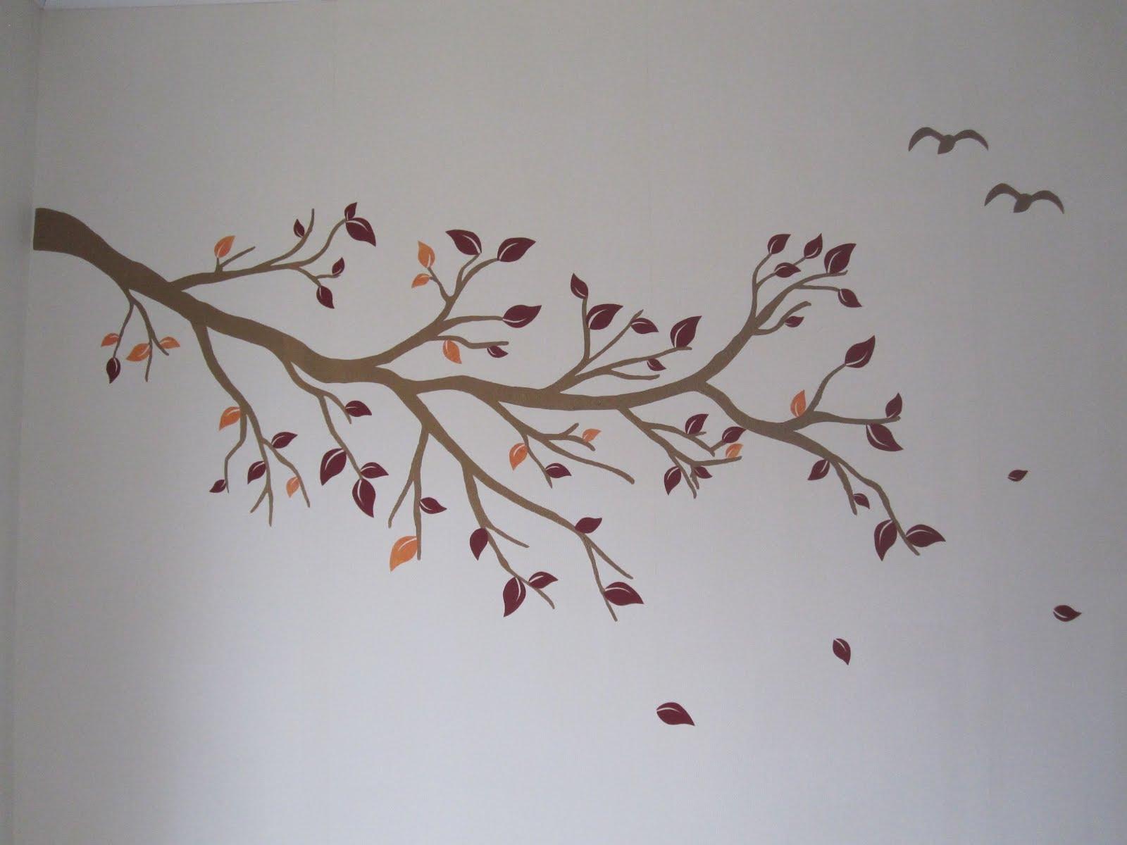 Abril 2012 - Paredes pintadas con dibujos ...